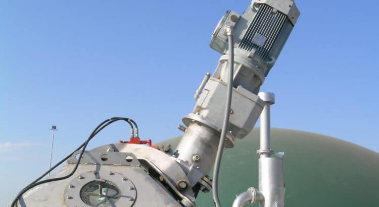 doda biogas mixer