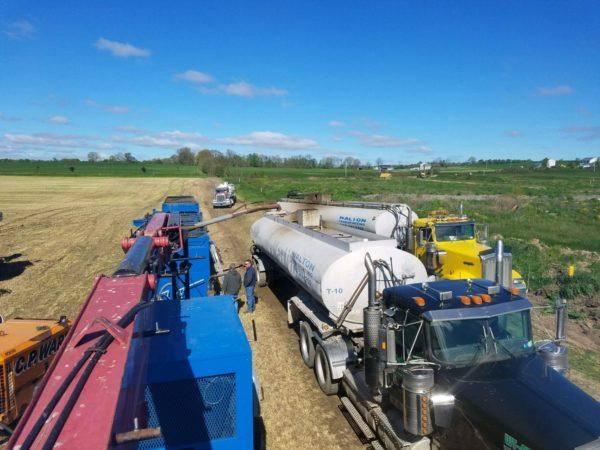 cuff farm services frac tank