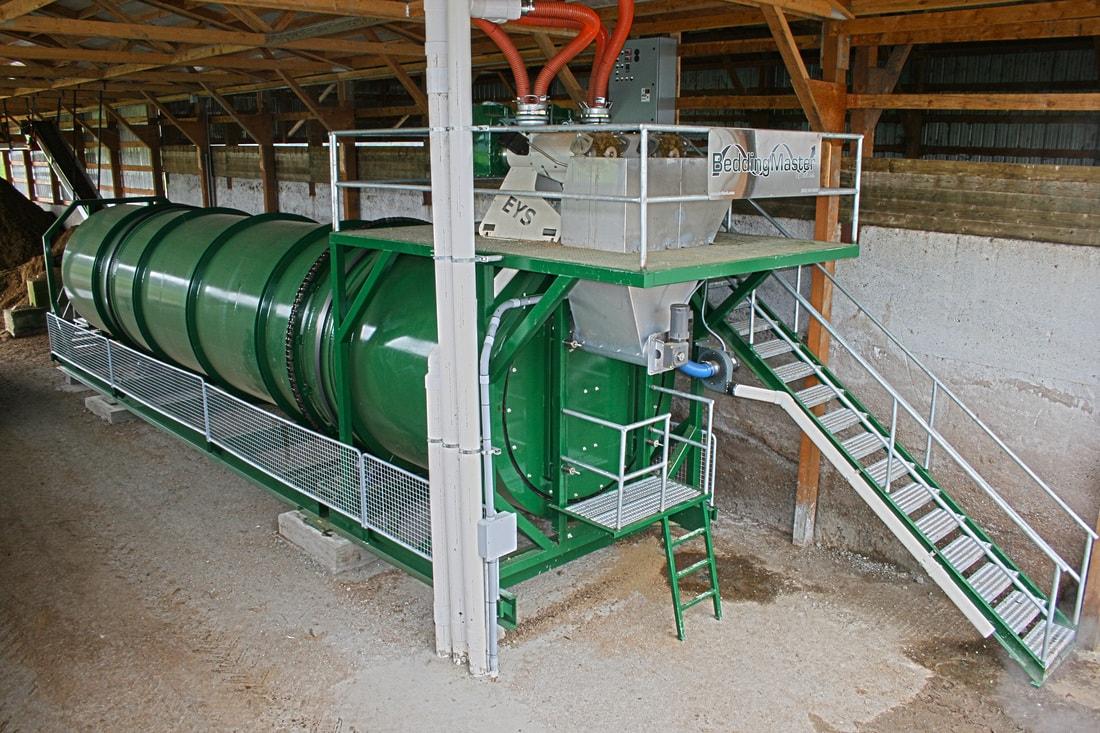 BeddingMaster In-Vessel Manure Composter