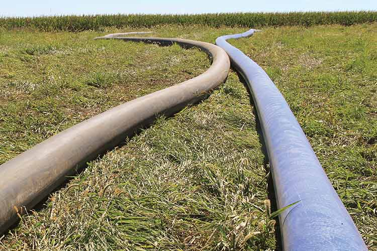 dragline hose