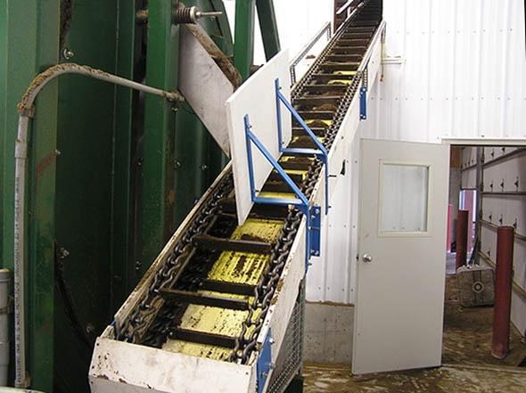 Stainless Chain Heavy Duty Conveyor